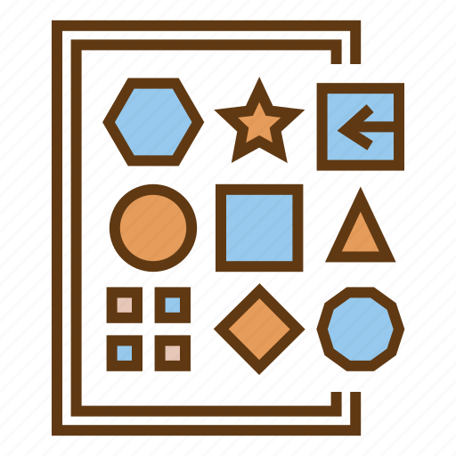 data variety, difference, geometry, variable data, variet icon