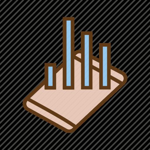 bar chart, buisness growth, data analytics, evaluation, seo, statistics, utilization data icon