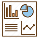 analytics, dashboard, data analytics, database report, statistics icon