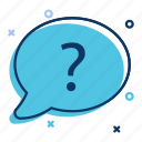 answer, chat, faq, helpdesk, question, support icon