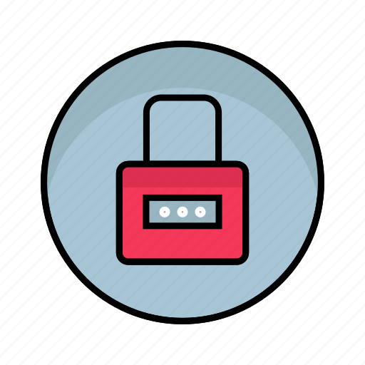 lock, login, password, protection, safety, security icon