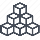 array, data, multidimensional, olap icon