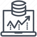 big data, filter, filtering, funnel, information icon