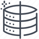 clean, cleansing, server, storage icon