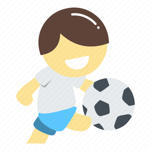 football, kick ball, player, professional, run, soccer, sport icon