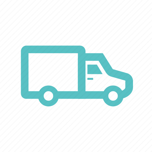 car, delivery, transportation, truck, van, wagon icon