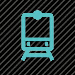 railway, station, subway, train, transport icon