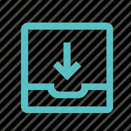 down, download, file, folder, move, upload icon