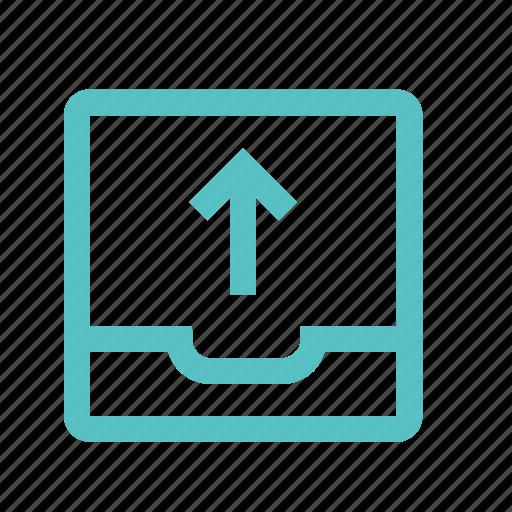 download, file, folder, move, up, upload icon
