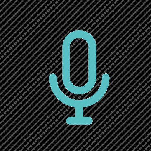 interview, microphone, on, sing, sound, speak, talk icon