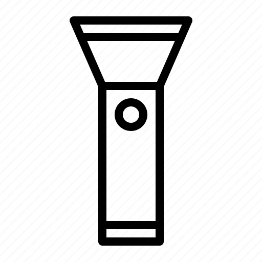 Flash, light, outdoor, torch icon - Download on Iconfinder