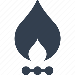 billing, bills, fire, gas, heat, oven, pay, paying, petrol, warming icon