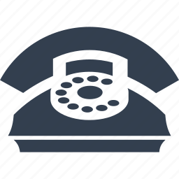 bills, call, calling, communication, disc, old, pay, phone, retro, telephone icon