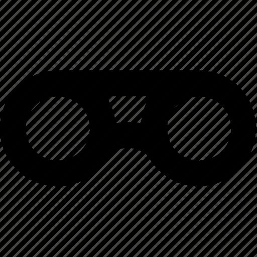 binocular, view, vision, zoom icon