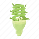 bio, eco, ecology, economy, lamp, light, nature icon