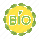 bio, eco, ecology, label, logo, natureemblem, sign icon