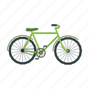 bicycle, bio, eco, ecology, nature, transport, vehicle icon