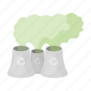 atmosphere, bio, eco, ecology, emission, nature, smoke icon