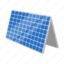 bio, eco, ecology, energy, nature, panel, solar icon