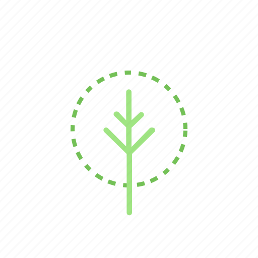 born, flowers, green, nature, tree icon