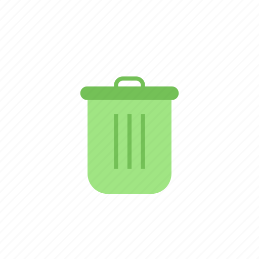 clean, green, recycle, trash icon