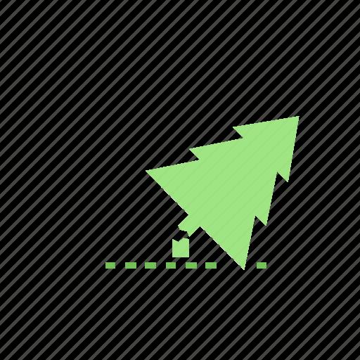 dead, green, nature, tree icon