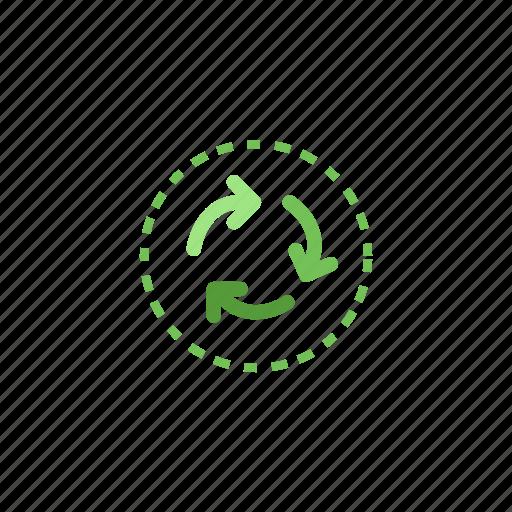 bio, biohazard, green, nature, planet, recycle icon