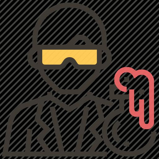 avatar, chemistry, lab, laboratory, people, science, scientist icon