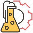 chemistry, education, flask, lab, laboratory, science icon