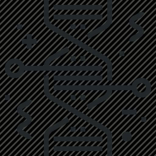 biochemistry, dna, engineering, gene, genetic, genetics, research icon