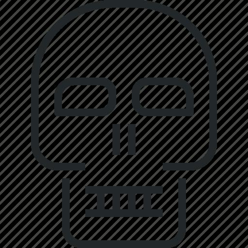 death, head, human, skull icon