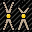 biochemistry, chemical, chemistry, chromosome, laboratory, science icon