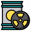 biochemistry, chemical, hazardous, laboratory, science icon