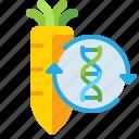 carrot, organisms, transgenic icon