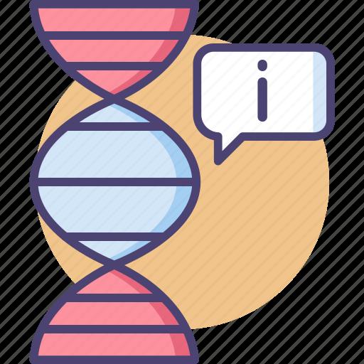 bioinformatic, bioinformatics, biological data, genetic data, genetic information icon