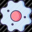 bacteria, bioengineering, cell, microorganism, virus icon