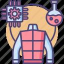nanotech, nanotechnology, science, scientific, technology icon
