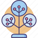 nature, phylogenetics, tree icon