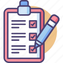 checklist, note, to do