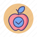 apple, nature, product icon