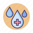 clean water, h2o, purified, purified water, water icon