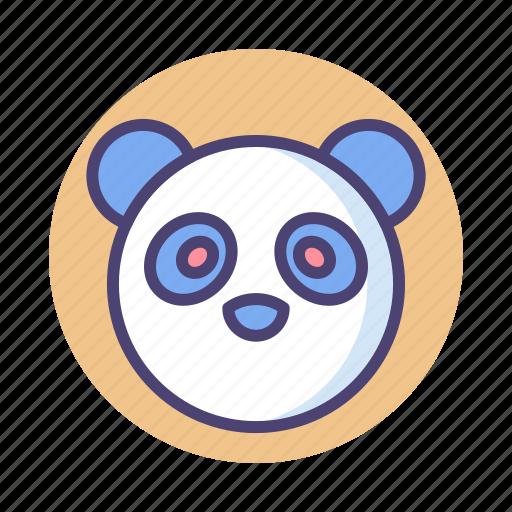 panda, protected animal, rare animal icon