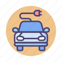 car, electric car, electric vehicle, smart, smart car icon