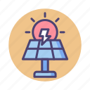 energy, solar, solar energy, solar panel, solar power icon