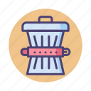 garbage, trash, trash can, waste reduction icon