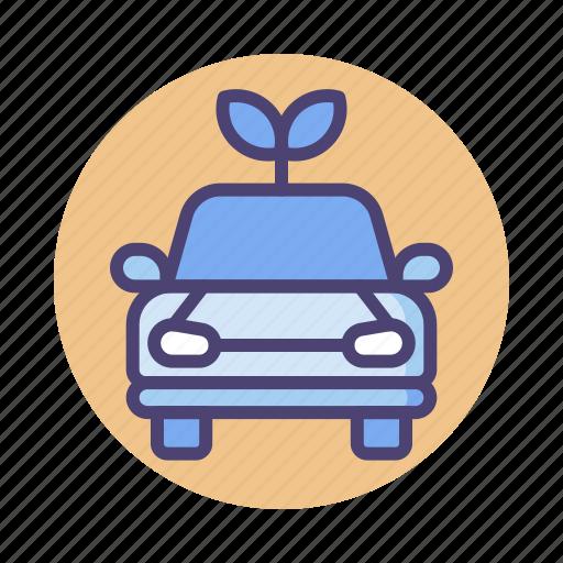 Car, emission, green vehicle, hybrid car, zero, zero emission icon - Download on Iconfinder