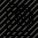 yul889, radiation, vector, barrel, thin icon