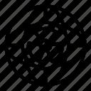 yul889, thin, program, vector, nuclear, global icon