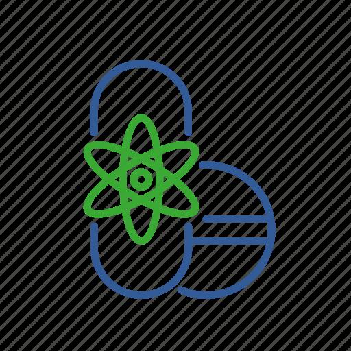 bioinformatics, design, drug, health, production, research icon