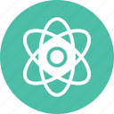 atom, biology, chemistry, physics icon